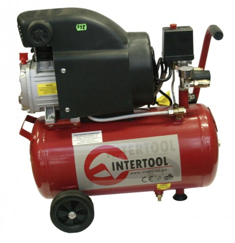 Компрессор 330 л/мин INTERTOOL